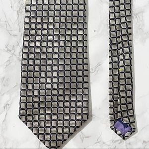 Nautica Black and Gray Necktie Brand New with Tags